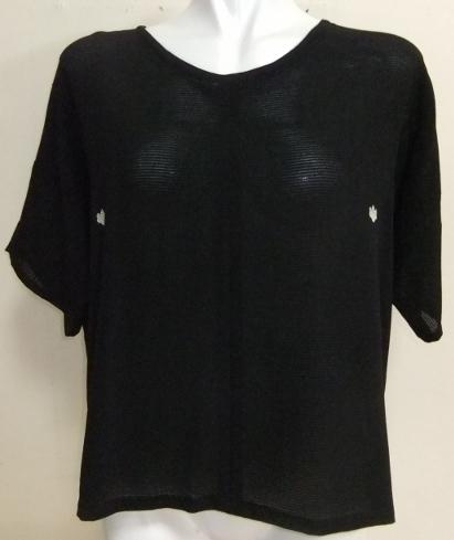 着物リメイク 絽縮緬の羽織で作ったTシャツ 1491