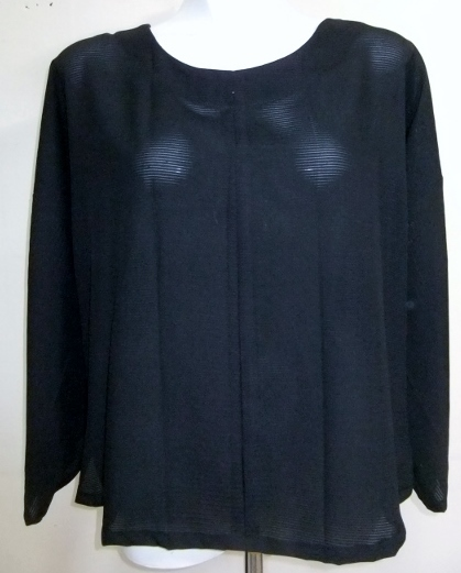 着物リメイク 絽の着物で作った長袖Tシャツ 1493