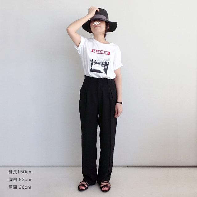 * 新作 * プリントTシャツ【 MADRID...