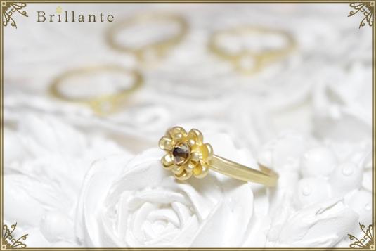 petit florence ring (LG-sepiatopaz)