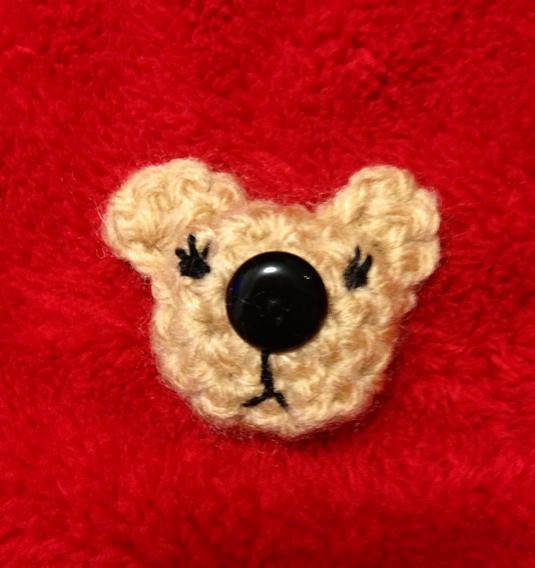 クマちゃんボタン