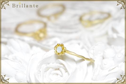 petit florence ring (MG-opal)
