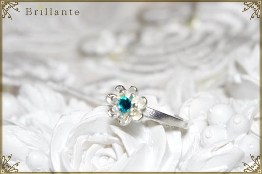 petit florence ring (LS-emerald)