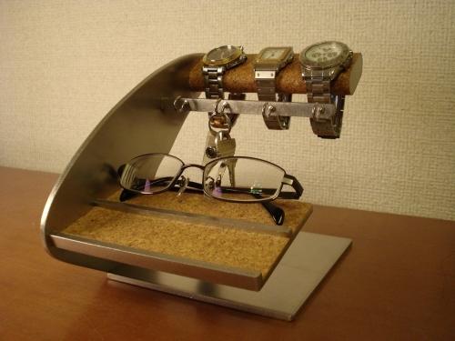 父の日に!時計、眼鏡、キーホルダースタンド AKデザイン