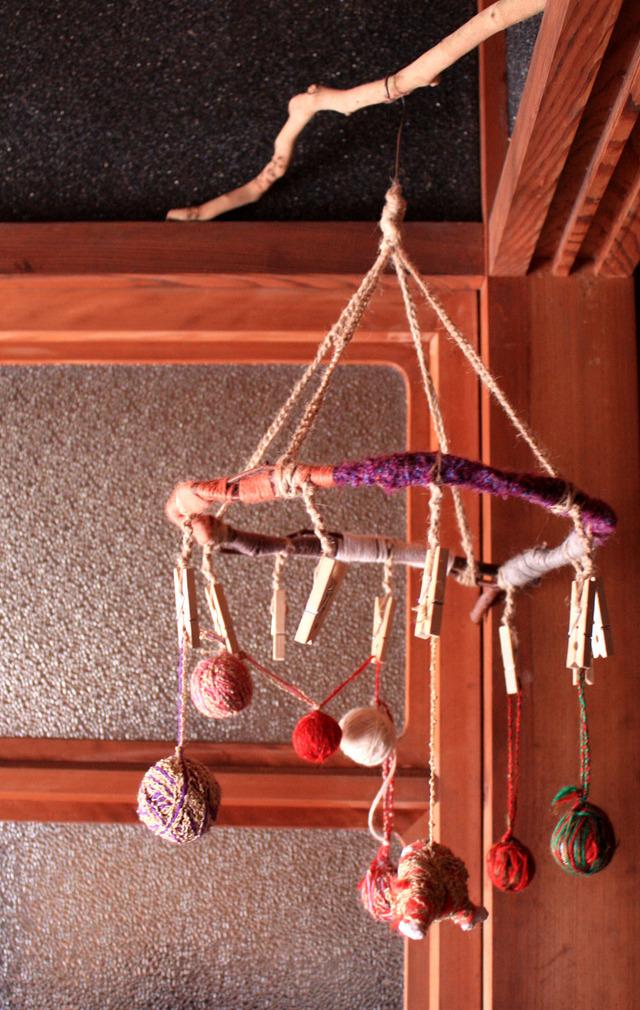 ●mariokids様オーダー品● 木と毛糸のピンチハンガー