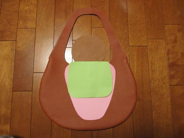 【ご予約品】革の袋【大型】トリヨン有機デザインのバッグ NEW!