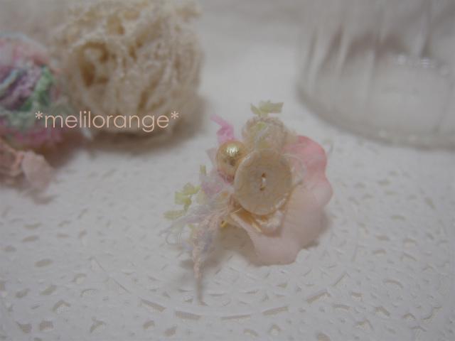 on petals earring * 花びらイヤリング PK