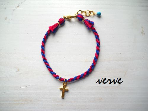 MICANGA ANKLET red��blue