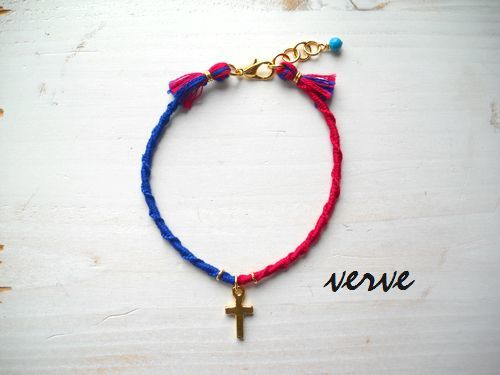 MICANGA ANKLET red†blue