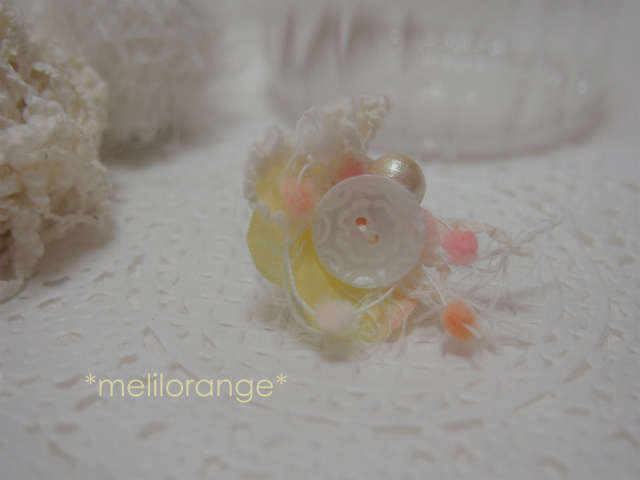 on petals earring * 花びらイヤリング YL