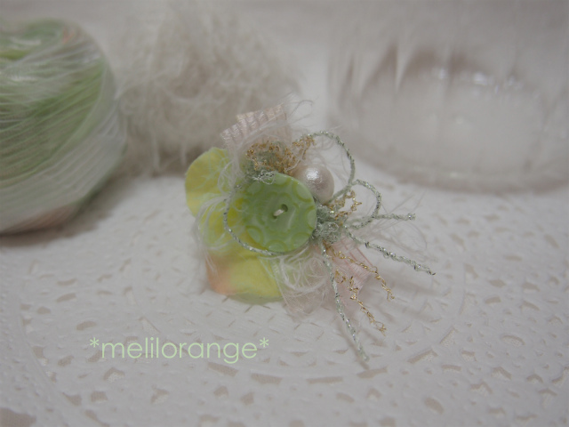on petals earring * 花びらイヤリング GR