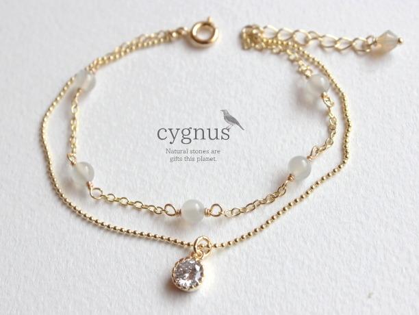cygnus/ムーンストーン6月誕生石