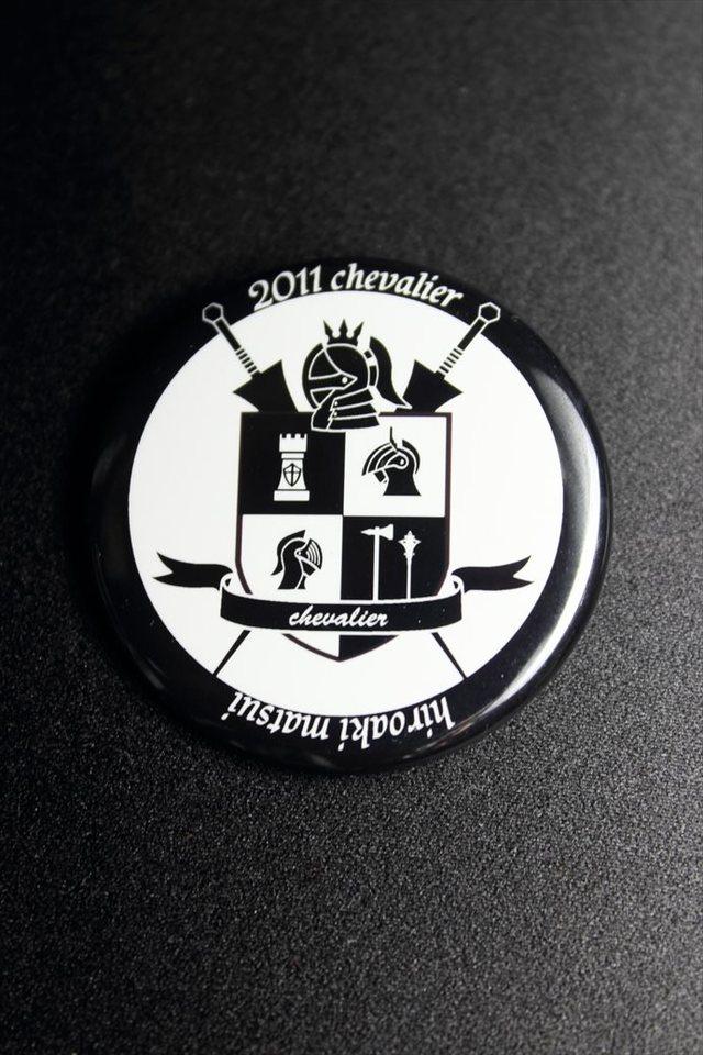 オリジナルエンブレム 缶バッチ 大(44mm)
