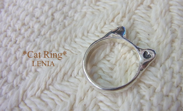 Cat Ring silver