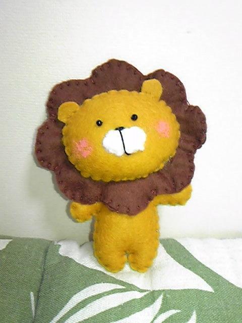 おとぼけライオン