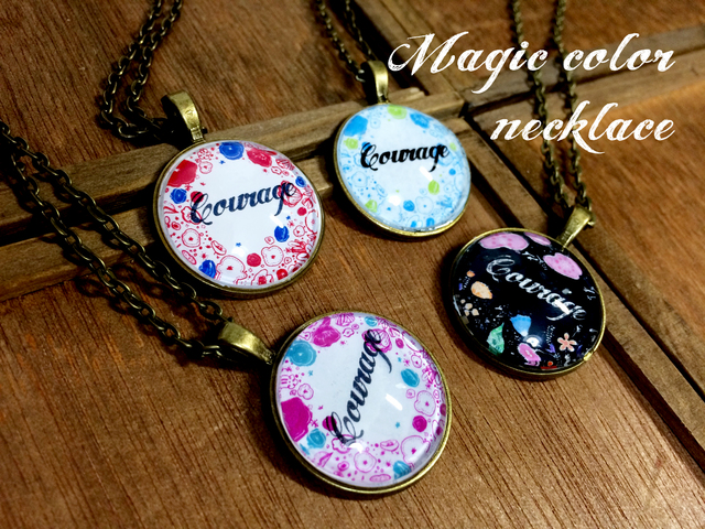 (ʸ�Ѳ�ǽ)Magic color necklace