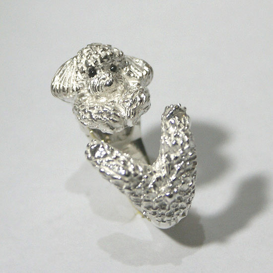 Poodle cling ring