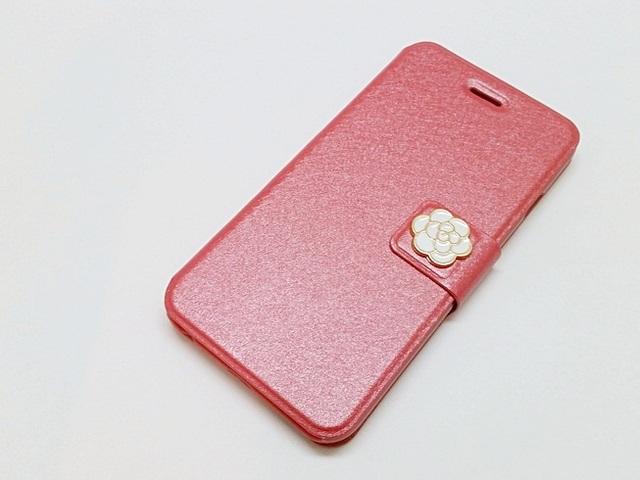 c8f98d4a21 【iPhone全機種】上品なカメリアモチーフのiPhoneケース(ピンク)アイフォン