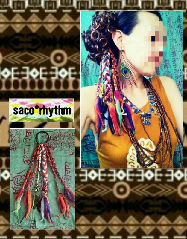 【s-66】アジアン*エスニック*アフリカン民族系ヘアアクセサリー