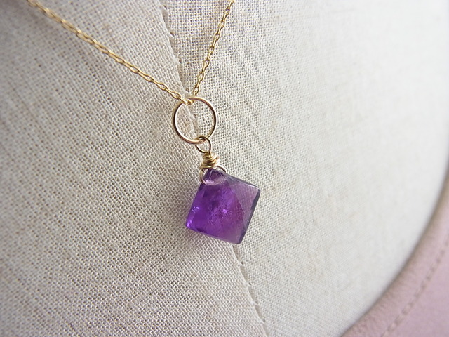 Amethyst*diamond*14kgf