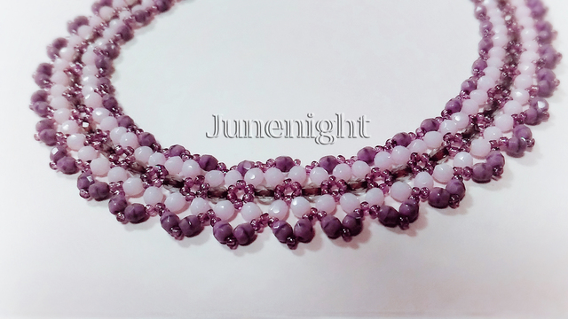 Necklace*Purple Shadow