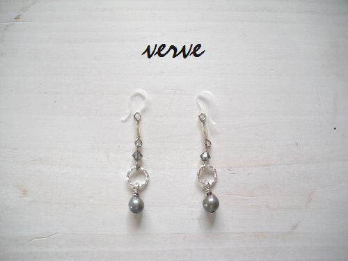 Water Pearl Drop Pierce