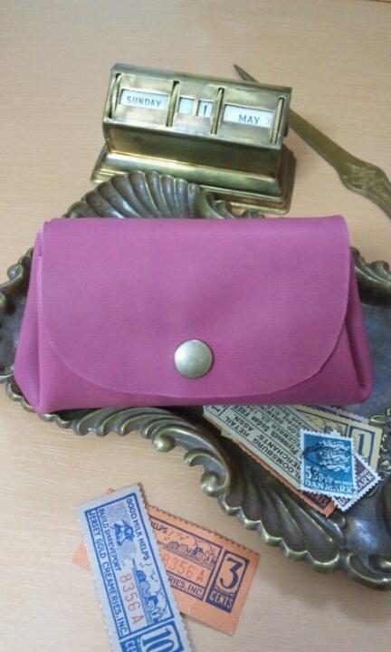 ころん財布(ポーチ):紫色