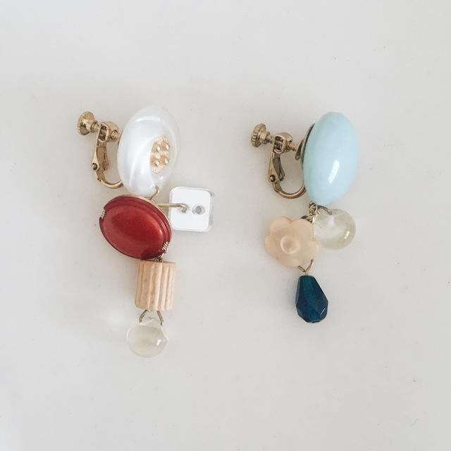 宝箱のイヤリング(片耳)