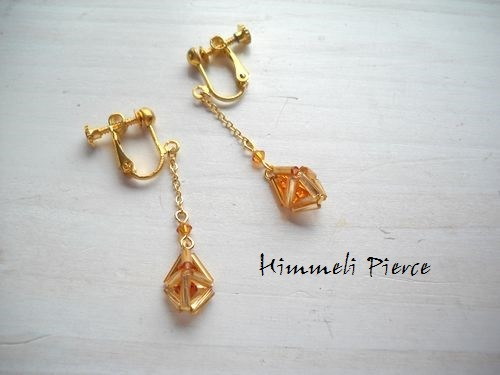 himmeli earrings chain Topaz