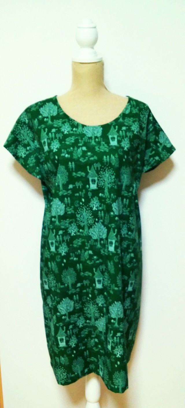 summer sale! no54*simple*One Piece  littlegreen 1点限定