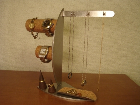 アクセサリースタンド 腕時計、指輪、ネックレス、小物入れ、アクセサリーディスプレイスタンド ak-design