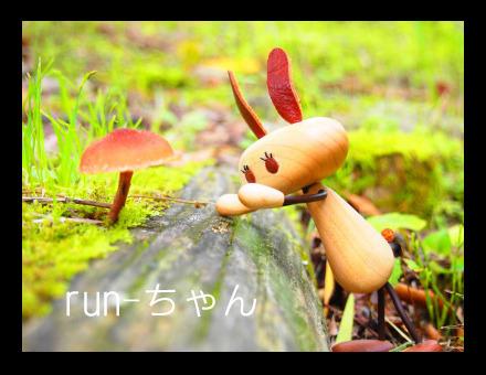 木の優しさ感じる 人形 ルンちゃん
