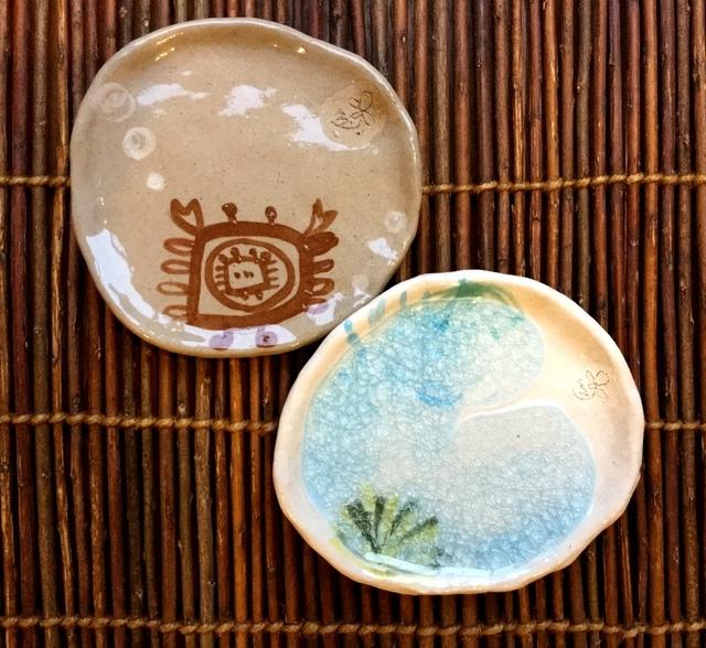 ★海もよう豆皿