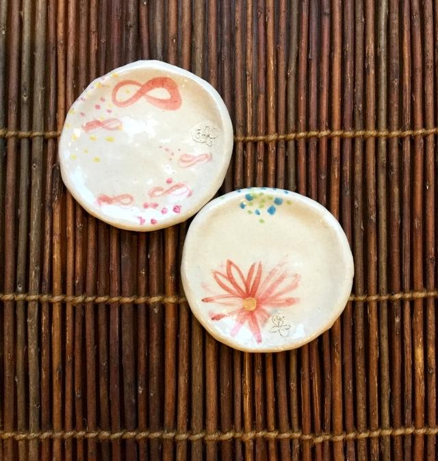 ★感謝彩&Xmas,sale開催中★はんなり絵付け豆皿