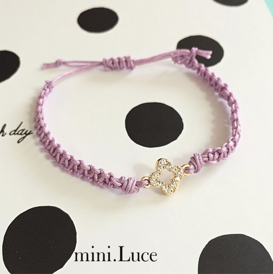 【Twinkleflower】bracelet/noblepurple
