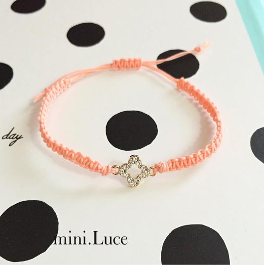 【Twinkleflower】bracelet/shineorange