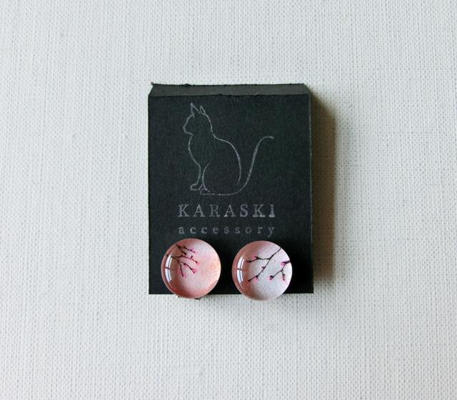 ちいさなイヤリング044/桜