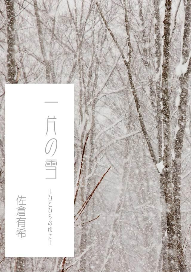一片の雪 -ひとひらのゆき-