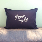 SALE!good night PILLOW CASE [NAVY]
