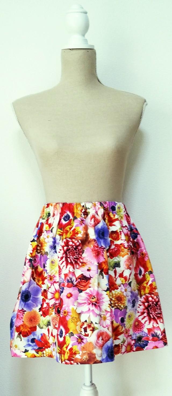summer sale!no57*flare skirt* Realflower