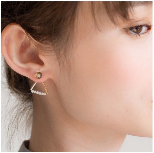 【14kgf】Losso Pierce WHITE ロッソピアス