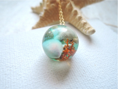 Seascapes Necklace   lll (訳あり)