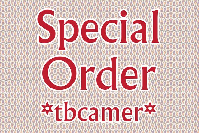 tbcamer様専用   特別注文商品