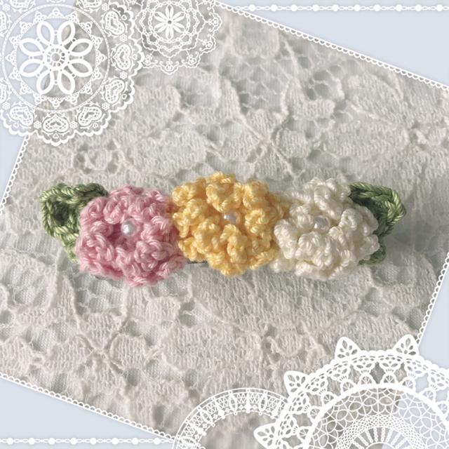 カラフル小花のミニバレッタ