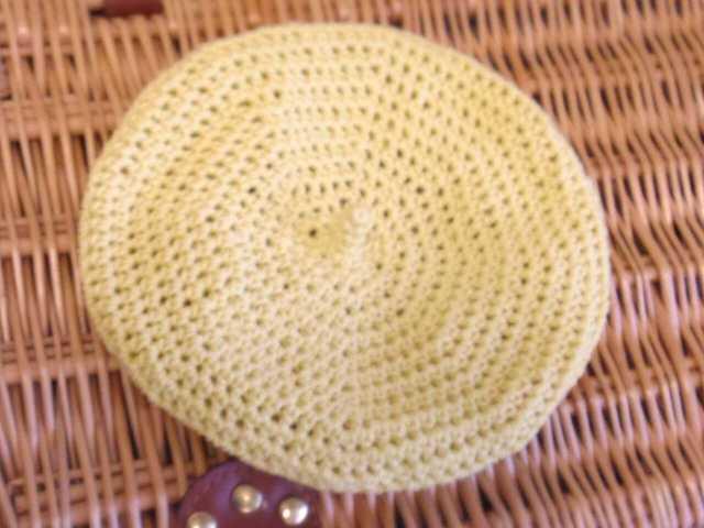 lemon ベレー帽 M