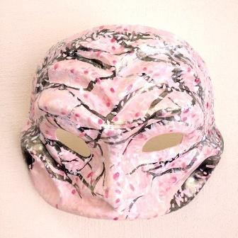 桜の精のマスク