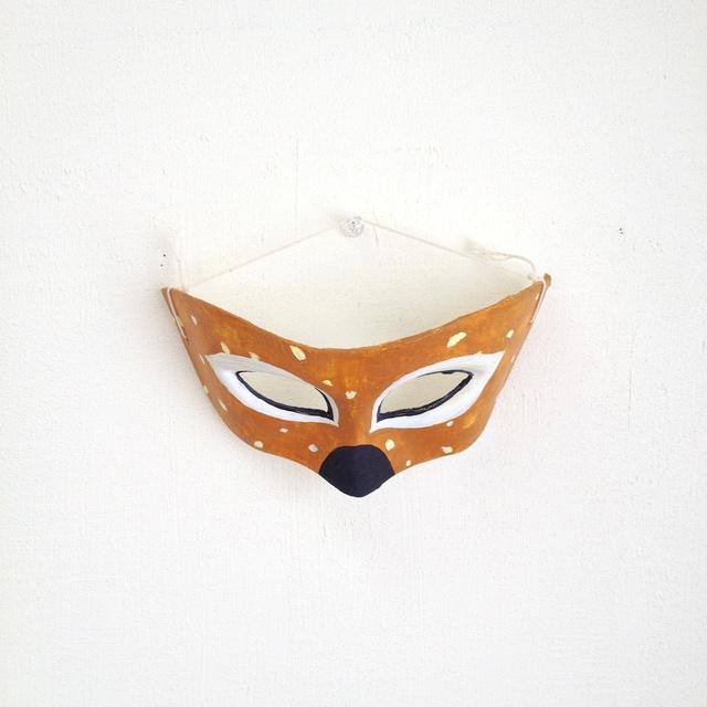 鹿のマスク