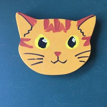 猫のマグネット『茶トラ』