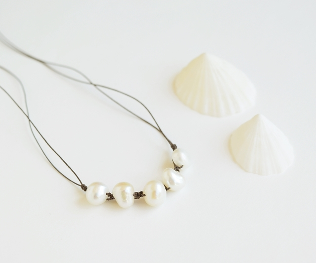 【金属フリー】Simple + chic necklace