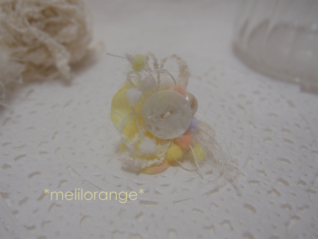 on petals pierce * 花びらピアス YL